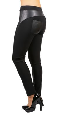 Conte push in leggingsit wetlook tehosteilla