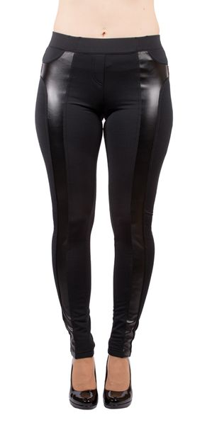 B.B mustat leggingsit wetlook somisteella